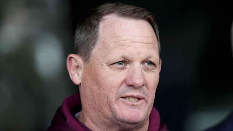 Seen here, Maroons coach Kevin Walters wants to lend a hand to the struggling Broncos.