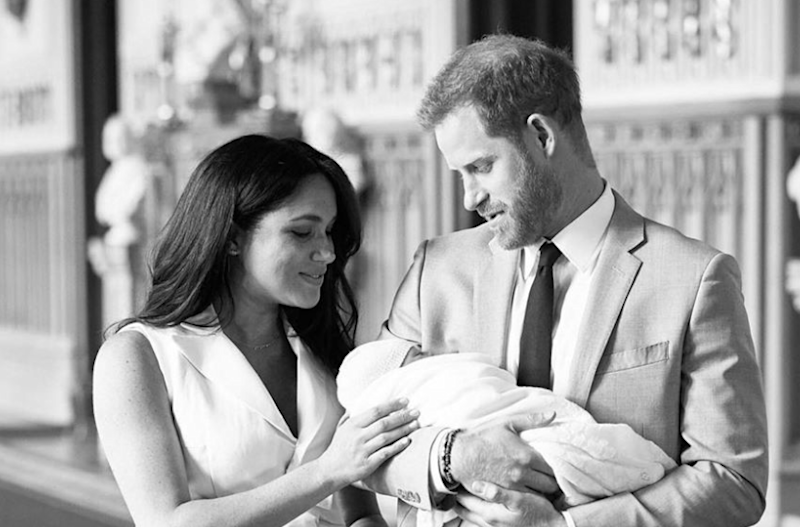 Instagram debut: The first post garnered more than one million likes within an hour (Chris Allerton/@SussexRoyal)