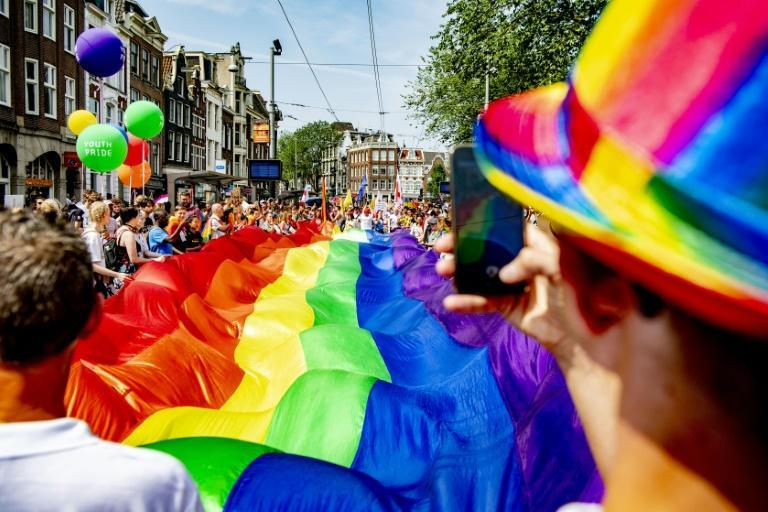 Gender categories will soon become obselete on Dutch ID cards (AFP Photo/Robin UTRECHT)
