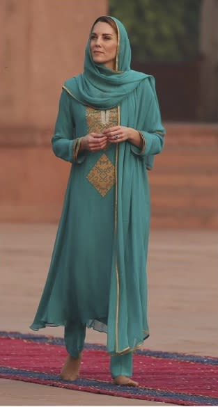 Kate Middleton Pakistanl ook