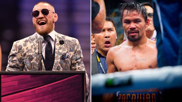 Will McGregor v Pacman ever happen? Image: Getty