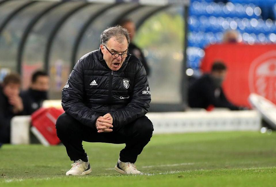 <p>Bielsa has taken his side into the top half</p> (Getty Images)