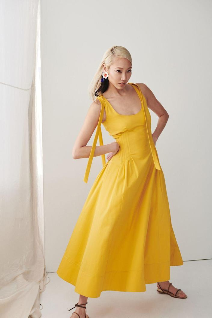 <p>Designers Fernando Garcia and Laura Kim looked to their pre-fall collection through an optimistic lens, with an eye toward vibrant colors, the codes of the house, and a summer of playfulness and whimsy. </p>
