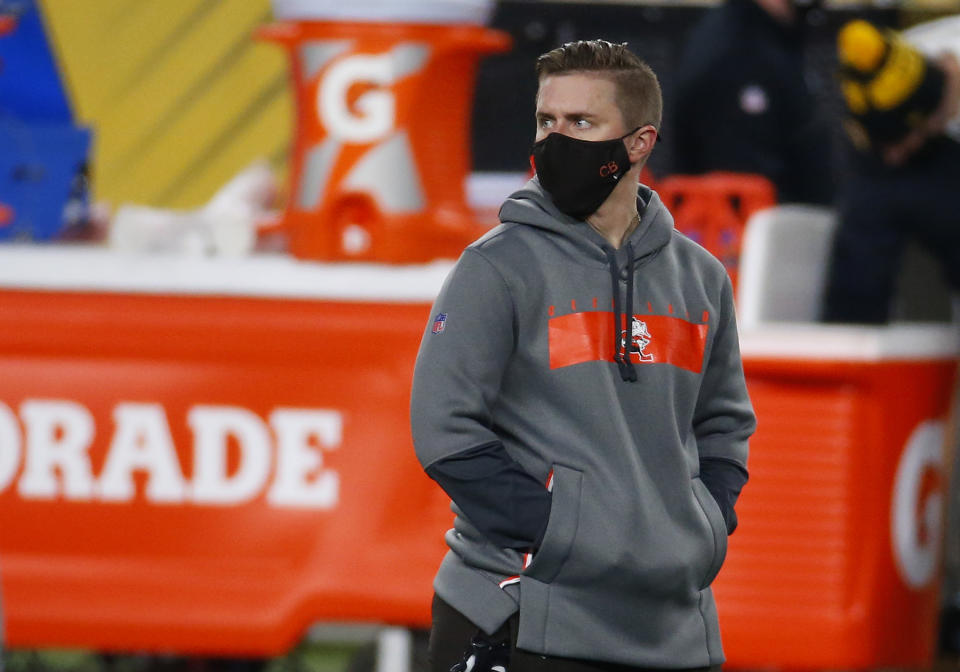Cleveland Browns assistant coach Callie Brownson