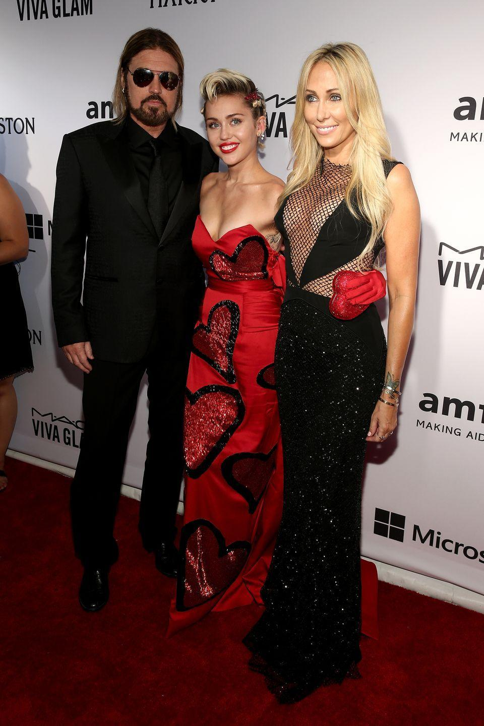 """<p><strong>Famous parent(s)</strong>: singer Billy Ray Cyrus<br><strong>What it was like</strong>: """"We have always had money and we have always had fame,"""" Miley has <a href=""""http://www.elleuk.com/fashion/celebrity-style/articles/a26094/miley-cyrus-elle-cover-interview/"""" rel=""""nofollow noopener"""" target=""""_blank"""" data-ylk=""""slk:said"""" class=""""link rapid-noclick-resp"""">said</a>. """"It's not new. People who grew up without either can get more of a culture shock and go the wrong way. 'Oh my God, I have all this money! How can I spend it? All these people will like me because I'm famous!' I've always had people trying to be my friend for the wrong reasons. I'm used to it. I can smell bullshit a mile away.""""</p>"""