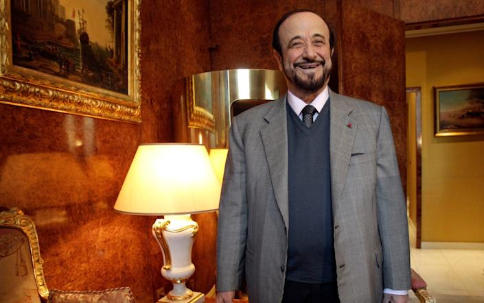 Rifaat al-Assad, the uncle of Syrian President Bashar al-Assad, was found guilty of illegally using Syrian state funds to build a French real estate empire. - AP