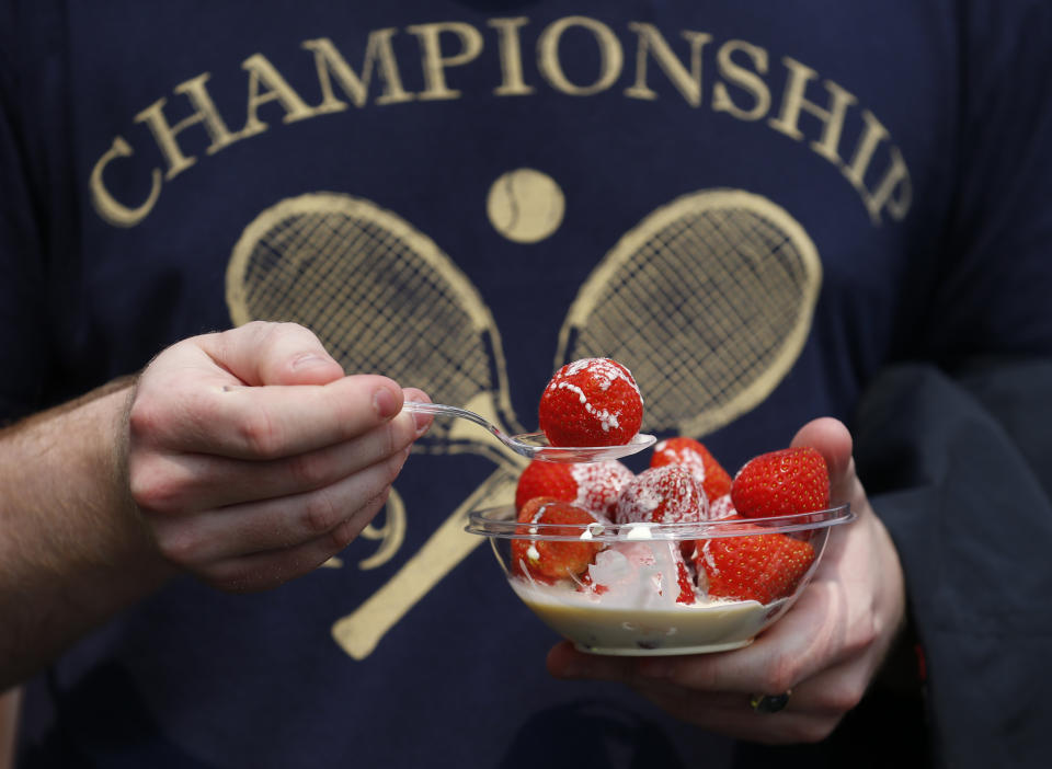 Dairy cooperative Arla are urging households to come on-board and help protect pollinators - a move that could help salvage Wimbledon's famous strawberries and cream