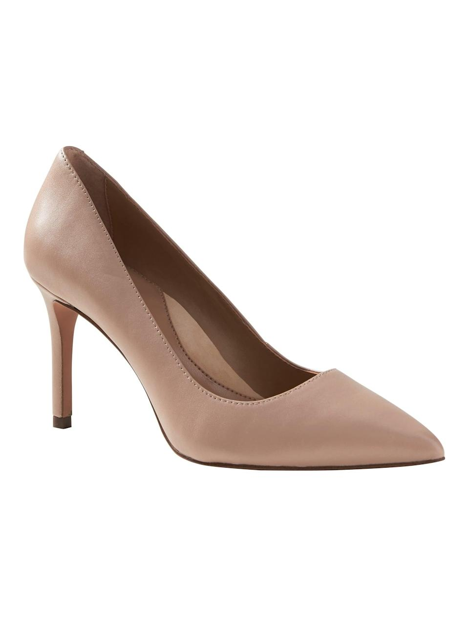 <p>Our favorite thing about the <span>Banana Republic Madison 12-Hour Pump</span> ($118)? It comes in so many colors!</p>