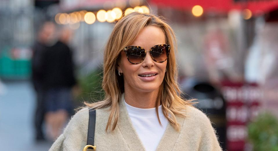 Amanda Holden has opened up about how she doesn't believe in diets. (Getty Images)