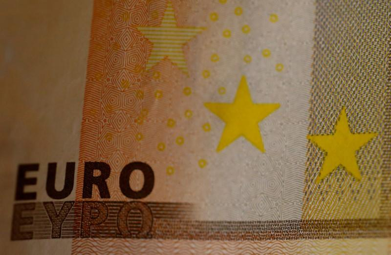 FILE PHOTO: A 50 Euro banknote is seen in a picture illustration.