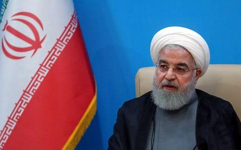 <span>Hassan Rouhani's government has been at odds with the Revolutionary Guard for years</span> <span>Credit: PRESIDENT OFFICE HANDOUT/EPA-EFE/REX </span>