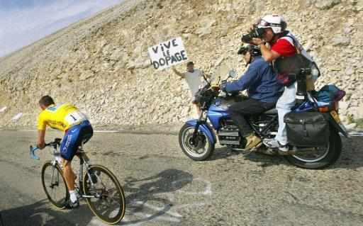 Even as Lance Armstrong dominated the Tour de France, he rode under a cloud of suspicion