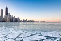 """<p>The <a href=""""http://mentalfloss.com/article/49651/why-chicago-called-windy-city"""" rel=""""nofollow noopener"""" target=""""_blank"""" data-ylk=""""slk:nickname"""" class=""""link rapid-noclick-resp"""">nickname</a> actually originated when a newspaper editor called the city """"windy"""" since it was ripe with politicians who were """"full of hot air.""""</p>"""