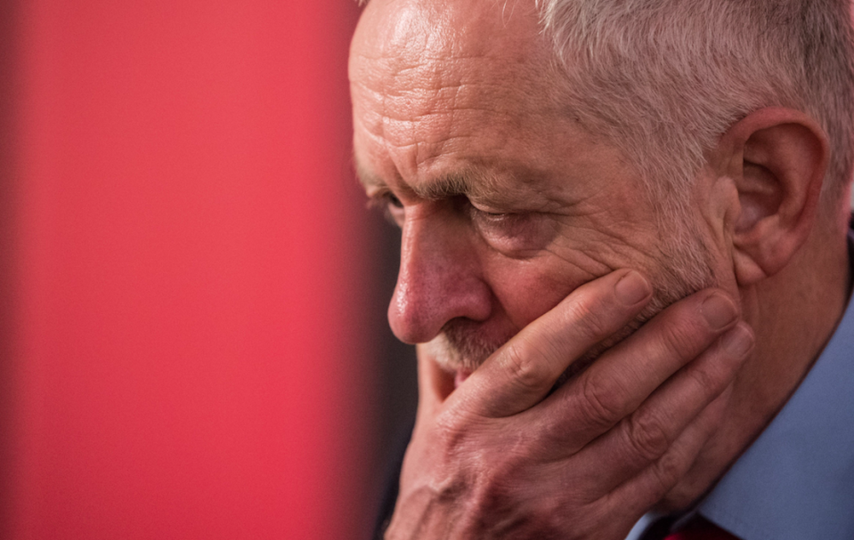 <em>Jeremy Corbyn has apologised for 'appearing on platforms with people whose views I completely reject' (Rex)</em>