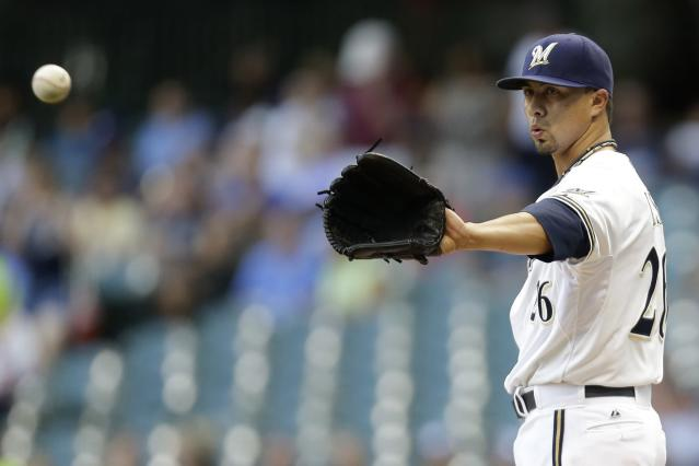 Kyle Lohse officially ended his 16-year MLB career by having a beer at a minor league baseball game. (Getty Images)