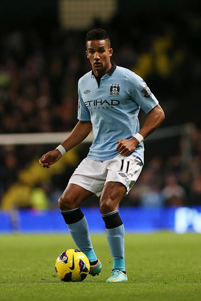 File photo dated 17/11/2012 of Manchester City's Scott Sinclair.