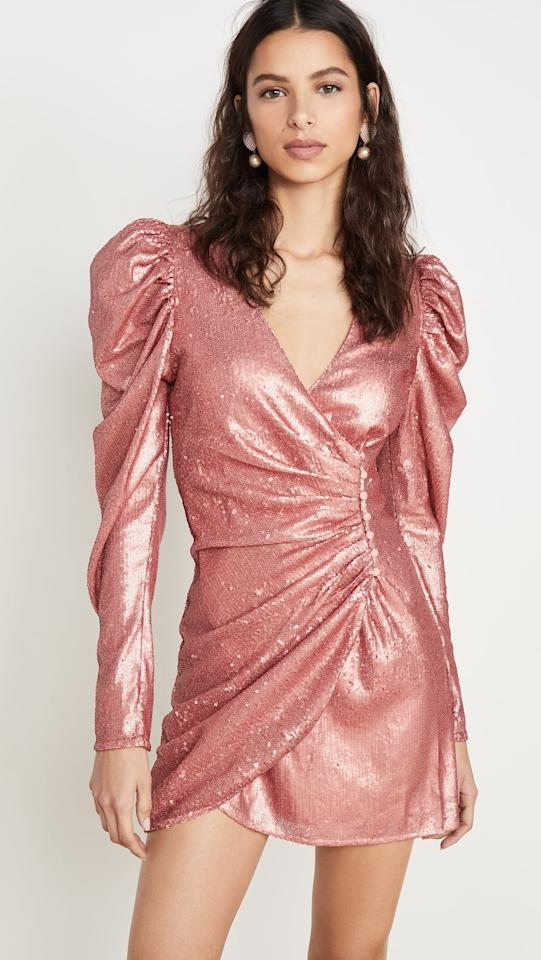 "<p>If you love rose gold, this <a href=""https://www.popsugar.com/buy/CMeo-Collective-Goes-Long-Sleeve-Dress-534380?p_name=C%2FMeo%20Collective%20As%20It%20Goes%20Long-Sleeve%20Dress&retailer=shopbop.com&pid=534380&price=215&evar1=fab%3Aus&evar9=45547349&evar98=https%3A%2F%2Fwww.popsugar.com%2Ffashion%2Fphoto-gallery%2F45547349%2Fimage%2F47038100%2FCMeo-Collective-As-It-Goes-Long-Sleeve-Dress&list1=shopping%2Cdresses%2Cparty%20dresses%2Cnew%20years%20eve%2Choliday%20fashion&prop13=mobile&pdata=1"" rel=""nofollow"" data-shoppable-link=""1"" target=""_blank"" class=""ga-track"" data-ga-category=""Related"" data-ga-label=""https://www.shopbop.com/goes-long-sleeve-dress-c/vp/v=1/1526207780.htm?folderID=13351&amp;fm=other-shopbysize-viewall&amp;os=false&amp;colorId=16DF6&amp;ref=SB_PLP_NB_68"" data-ga-action=""In-Line Links"">C/Meo Collective As It Goes Long-Sleeve Dress</a> ($215) is for you.</p>"