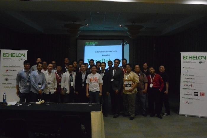 Indonesia Satellite Group photo