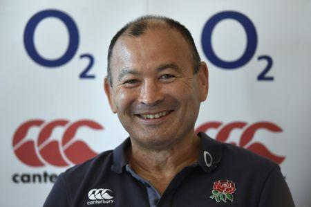 Britain Rugby Union - England Press Conference - Pennyhill Park, Bagshot, Surrey - 25/5/17 England head coach Eddie Jones during the press conference Action Images via Reuters / Adam Holt Livepic EDITORIAL USE ONLY.