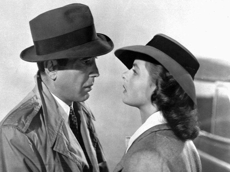 Humphrey Bogart and Ingrid Bergman in 'Casablanca'Warner BrosPictures