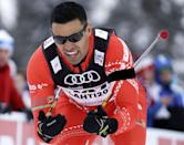 """<p>""""I chose it because it made no sense,"""" he <a href=""""https://www.theguardian.com/sport/2019/jan/02/the-incredible-story-of-pita-taufatofua-tongas-shirtless-olympic-flag-bearer"""" rel=""""nofollow noopener"""" target=""""_blank"""" data-ylk=""""slk:told The Guardian"""" class=""""link rapid-noclick-resp"""">told <em>The Guardian</em></a> of his selection in sport.</p>"""