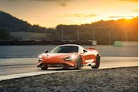 "<p>The <a href=""https://www.caranddriver.com/mclaren/765lt"" rel=""nofollow noopener"" target=""_blank"" data-ylk=""slk:2021 McLaren 765LT"" class=""link rapid-noclick-resp"">2021 McLaren 765LT</a> is a track-focused exotic sports car that weighs less than 3000 pounds and basically bolts a nuclear reactor behind its passengers. The latter constitutes a 754-hp twin-turbo V-8 that roars like a lion in heat. The letters in its name stand for Longtail, which indicates this <a href=""https://www.caranddriver.com/mclaren"" rel=""nofollow noopener"" target=""_blank"" data-ylk=""slk:McLaren"" class=""link rapid-noclick-resp"">McLaren</a> means serious business. It shares a hollow-eyed expression, lightweight construction, and eminently customizable properties with the <a href=""https://www.caranddriver.com/mclaren/720s"" rel=""nofollow noopener"" target=""_blank"" data-ylk=""slk:McLaren 720S"" class=""link rapid-noclick-resp"">McLaren 720S</a>. While its interior can be stripped down for further weight reduction, it remains a driver's paradise thanks to fantastic outward visibility and only the most essential controls. The 2021 765LT isn't for the faint of heart, and it's even more expensive than its shorter sibling, but that money help make it move quicker and corner sharper.</p><p><a class=""link rapid-noclick-resp"" href=""https://www.caranddriver.com/mclaren/765lt"" rel=""nofollow noopener"" target=""_blank"" data-ylk=""slk:Review, Pricing, and Specs"">Review, Pricing, and Specs</a></p>"