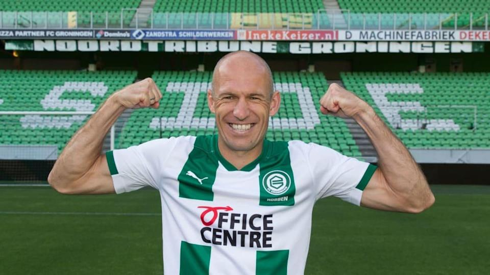 Contract signing Arjen Robben FC Groningen | Soccrates Images/Getty Images
