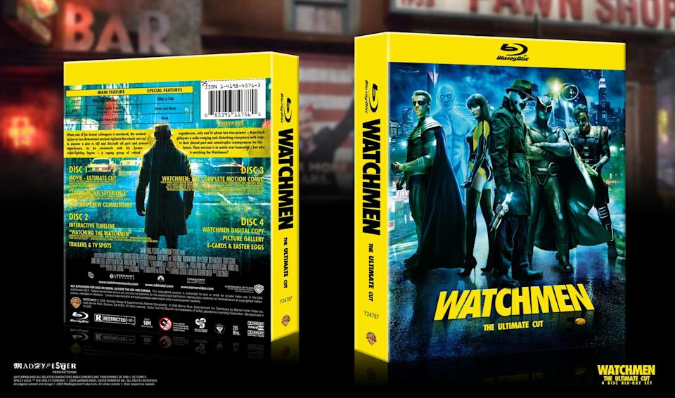 Zack Synder's Ultimate Cut of Alan Moore's seminal comic series 'Watchmen' is considered the definitive version (Warner Bros.)