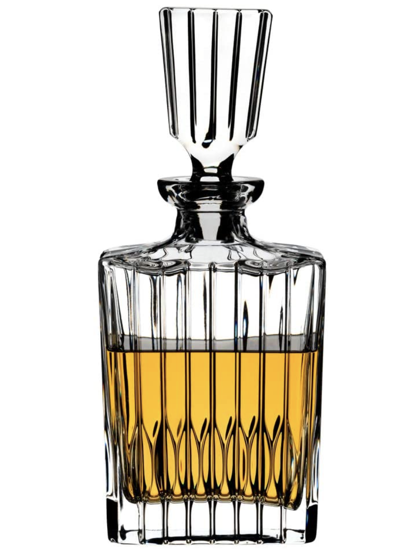 Riedel Spirits Decanter, 2.07 kg. PHOTO: Amazon