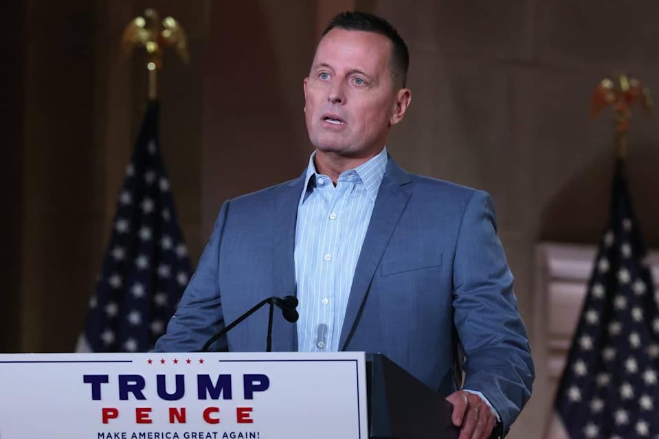 Former acting director of national intelligence Richard Grenell