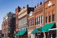 """<p>This historic town of less than 10,000 people has a <a href=""""http://www.cityofguthrie.com/index.aspx?nid=149"""" rel=""""nofollow noopener"""" target=""""_blank"""" data-ylk=""""slk:great variety of antique stores"""" class=""""link rapid-noclick-resp"""">great variety of antique stores</a>, from sports memorabilia specialists to cowboy-centered shops. Those with more general tastes will be happy to browse <a href=""""http://www.countrycornerguthrie.com/"""" rel=""""nofollow noopener"""" target=""""_blank"""" data-ylk=""""slk:Country Corner"""" class=""""link rapid-noclick-resp"""">Country Corner</a>, which has two fully-loaded floors of unique finds.</p>"""