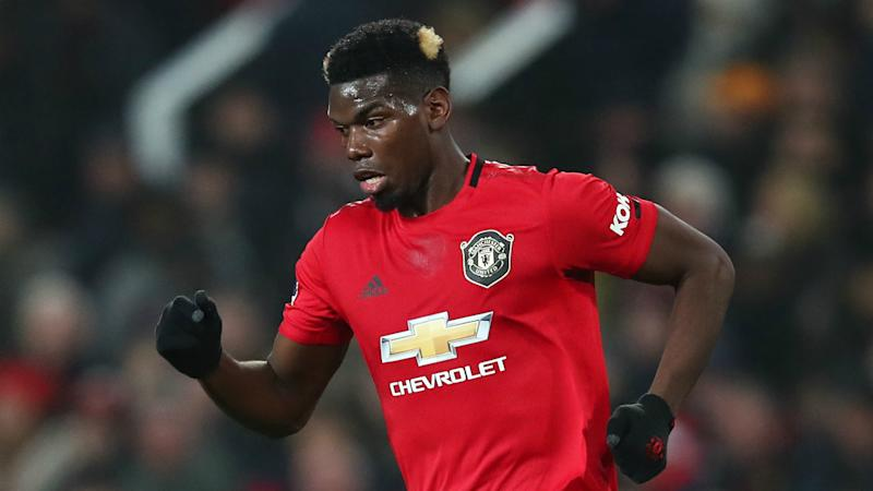 Pogba pictured back on duty as Man Utd return to training