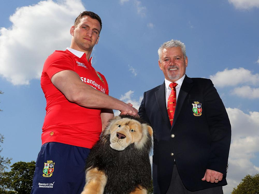 The British and Irish Lions are set to jet off to New Zealand this summer: Getty