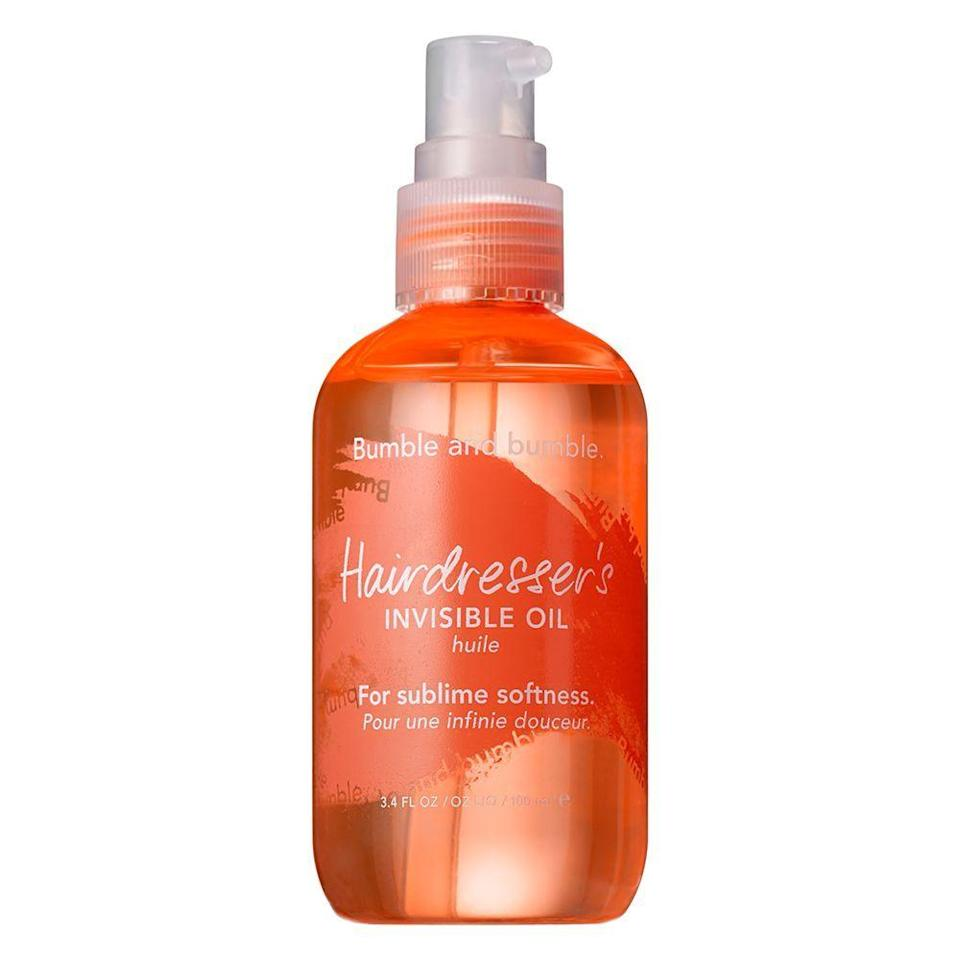 """<p><strong>Bumble and bumble</strong></p><p>sephora.com</p><p><strong>$40.00</strong></p><p><a href=""""https://go.redirectingat.com?id=74968X1596630&url=https%3A%2F%2Fwww.sephora.com%2Fproduct%2Fhairdresser-s-invisible-oil-P375391&sref=https%3A%2F%2Fwww.elle.com%2Fbeauty%2Fhair%2Fg35599042%2Ffall-2021-hair-trends%2F"""" rel=""""nofollow noopener"""" target=""""_blank"""" data-ylk=""""slk:Shop Now"""" class=""""link rapid-noclick-resp"""">Shop Now</a></p>"""