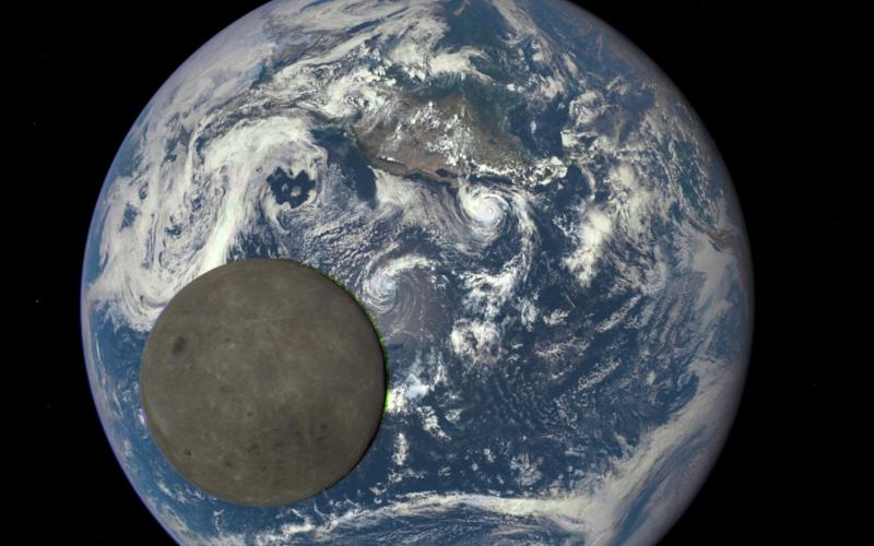 The moon is currently moving away from Earth at a rate of 3.82cm a year, which could mean in around 200 million years' time, each day will be 25 hours long - NASA