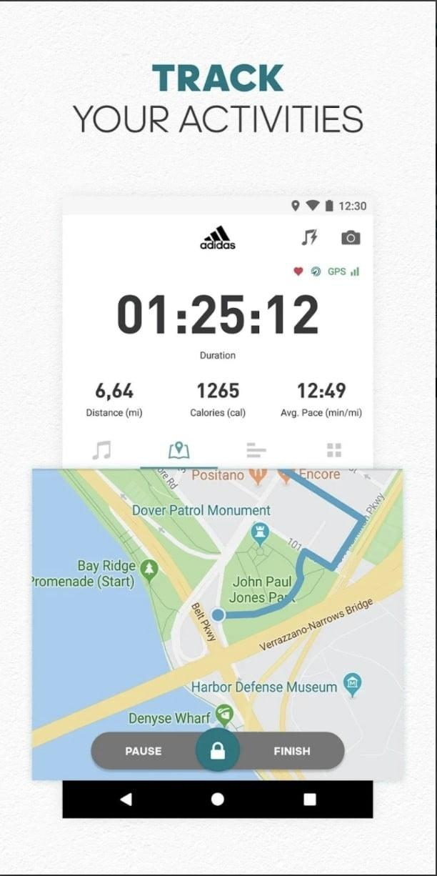 best fitness apps for android runtastic app1