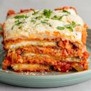 "<p>Sure, it's not the easiest recipe in the world — but it is <em>so</em> worth it.</p><p><a href=""https://www.delish.com/cooking/recipe-ideas/a58245/easy-baked-eggplant-parmesan-recipe/"" rel=""nofollow noopener"" target=""_blank"" data-ylk=""slk:Get the recipe from Delish »"" class=""link rapid-noclick-resp"">Get the recipe from Delish »</a></p>"