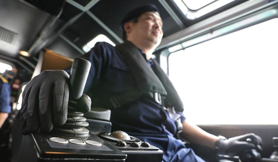 The newer boats are controlled by joysticks, rather than steering wheels. Photo: Dickson Lee