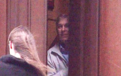 <span>Prince Andrew was one spotted at the door of Jeffrey Epstein's New York home in 2010</span> <span>Credit: Mail on Sunday/2010 by Mail on Sunday </span>