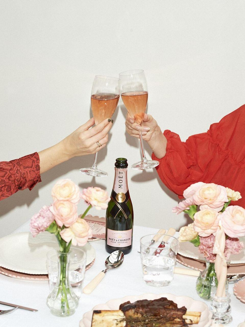 "<p>Laura Jackson has collaborated with Moët & Chandon to create a Galentine's Day box, celebrating the joys of female friendship and partnership. It contains a bottle of Rosé Impérial and a three-course meal of baked camembert, delicious beef short ribs from HG Walter or a hearty vegetarian wellington with celeriac, dauphinoise potatoes and buttered winter greens from the Covent Garden vegetable market – followed by Jackson's take on Eton Mess, with toasted hazelnuts and berry compote. Each box will also include a Pink Blossom Love candle by Wax Atelier; bespoke menus designed by Romeo + Jules Studio; and recipes to create two Moët & Chandon cocktails. </p><p>£55, Hoste x Moët & Chandon. Each box will be delivered before 13 February.</p><p><a class=""link rapid-noclick-resp"" href=""https://www.restaurantkitsuk.com/#/restaurant-landing-page"" rel=""nofollow noopener"" target=""_blank"" data-ylk=""slk:SHOP NOW"">SHOP NOW</a><br></p>"