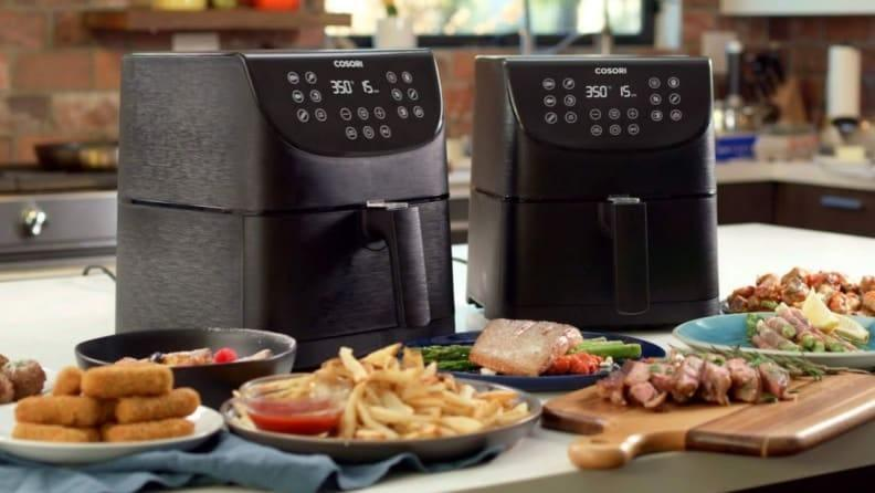 The Cosori Air Fryer Max XL 5.8-quart is always our best value pick, but today it's even cheaper.