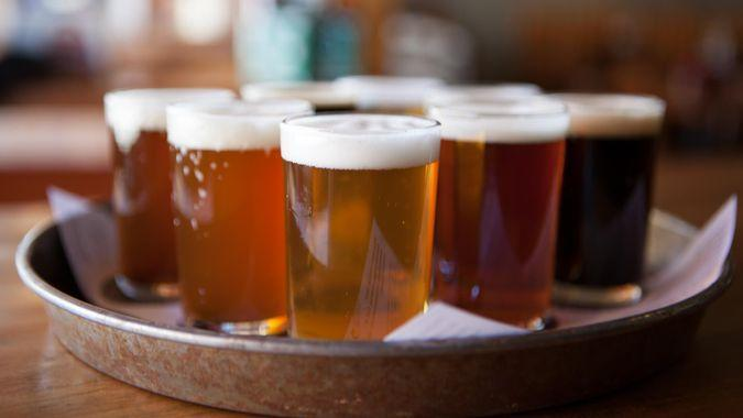 Beer samplers or testers are a great way to sample a pubs various beers without the expense of buying drinking pints.