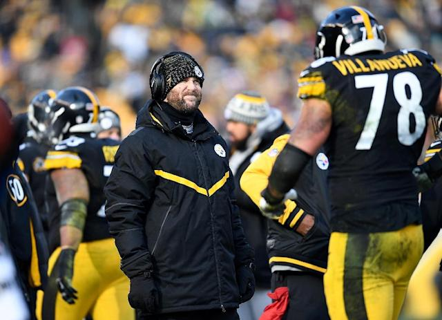 Ben Roethlisberger could conceivably be making his farewell appearance at Heinz Field in the AFC divisional round contest (AFP Photo/Joe Sargent)