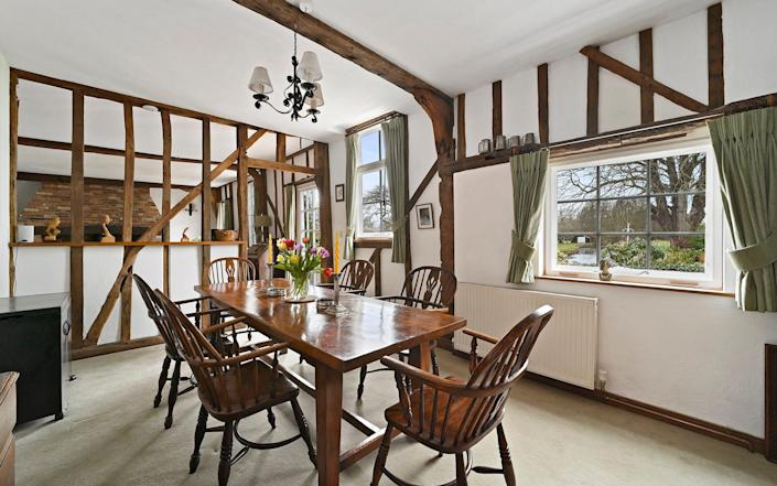 Stisted Mill, Essex, features beamed rooms throughout - Savills Estate Agent