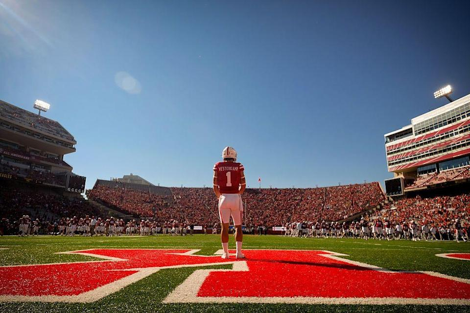 """<p>Football is a big deal in the Cornhusker State! Memorial Stadium at the University of Nebraska becomes the <a href=""""https://www.heraldextra.com/sports/college/byu/football/five-true-facts-about-nebraska-football/article_8764dc51-88ad-50df-9d5f-0106aac9e0ae.html"""" rel=""""nofollow noopener"""" target=""""_blank"""" data-ylk=""""slk:state's third largest city"""" class=""""link rapid-noclick-resp"""">state's third largest city</a> during football games (it has a sell-out capacity of nearly 92,000)<span class=""""redactor-invisible-space"""">.</span> </p>"""