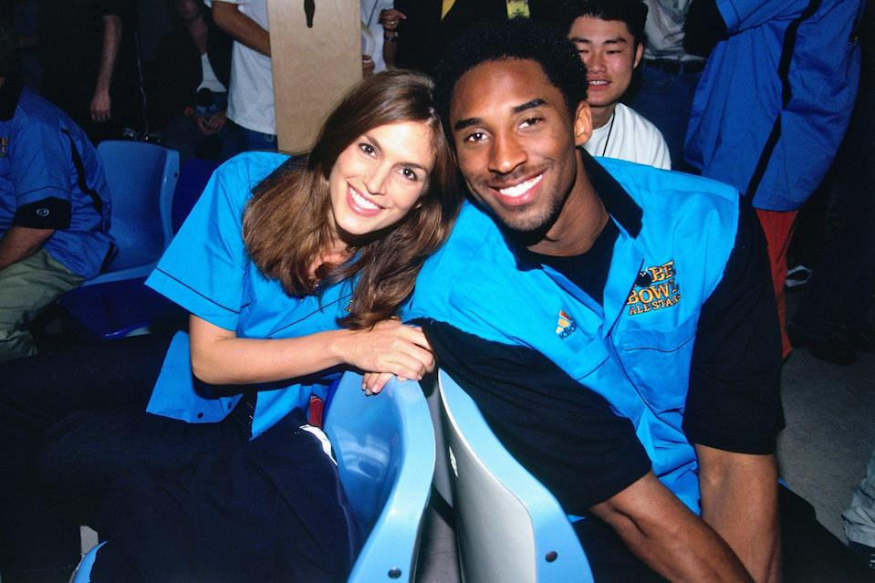 <p>Head to head with a young Kobe Bryant in 1999 at a Los Angeles Lakers charity bowling event in Inglewood, California.</p>