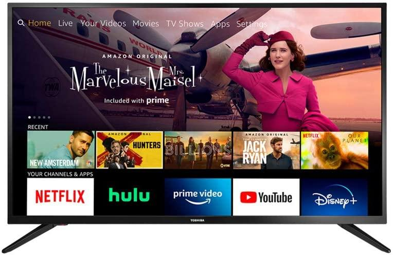 Amazon Prime Day Toshiba 43-inch Smart HD Fire TV Edition TV deal