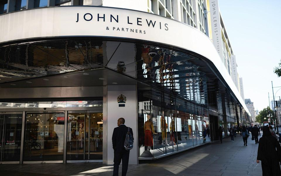 A spokesman for John Lewis said that the company's minimum hourly pay has never been below the national minimum wage - Leon Neal/Getty Images