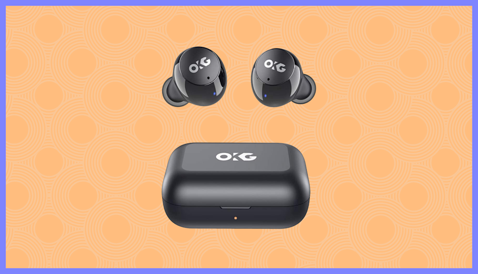 These OKG True Wireless Stereo Earbuds are half-off! (Photo: Amazon)