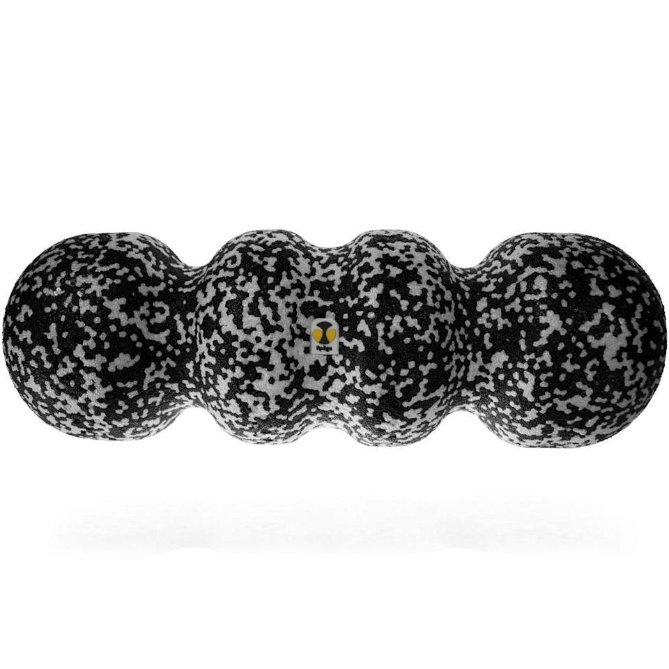 """For active family and friends who fancy themselves intense workouts, give them the gift of recovery à la the Rollga Foam Roller. Its contoured shape gets into the nooks and crannies of the body and massages tense, sore muscles to stimulate blood flow. Since it's compact and lightweight, it can come with them quite literally anywhere.<br> <br> <strong>$40</strong> (<a href=""""https://www.amazon.com/Rollga-Panda-Contoured-Massager-Trigger/dp/B06XD7KNDD"""" rel=""""nofollow noopener"""" target=""""_blank"""" data-ylk=""""slk:Shop Now"""" class=""""link rapid-noclick-resp"""">Shop Now</a>)"""